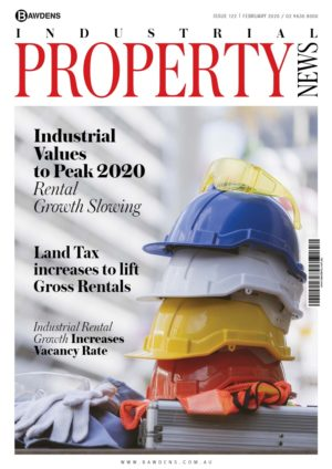 Industrial Values to Peak 2020: Rental Growth Slowing